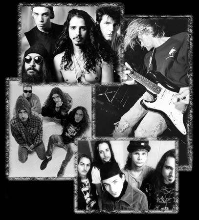Musikhistorie - Rundt om Grunge