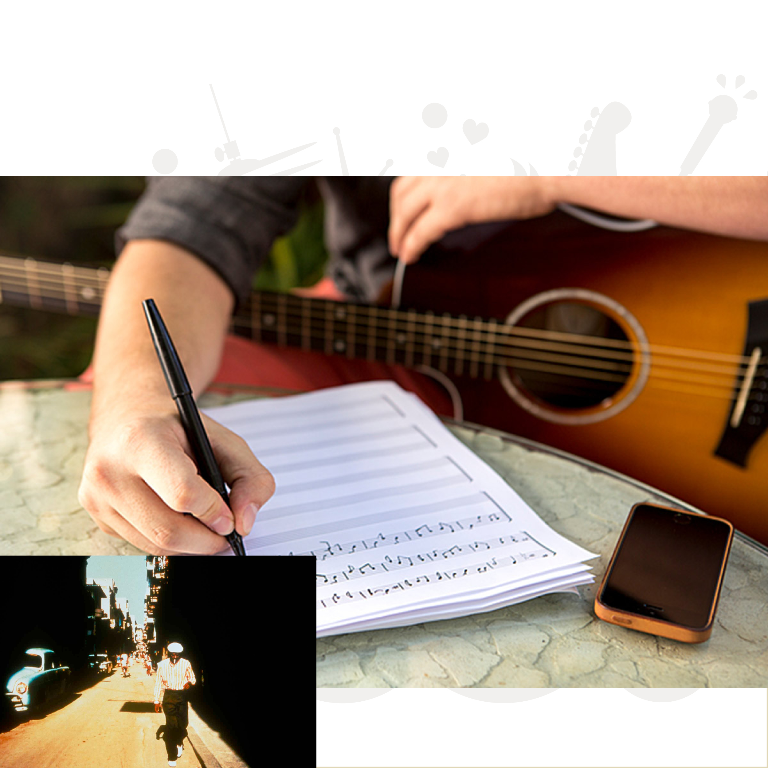 Sangskrivning/komposition/arrangement - cubansk musik