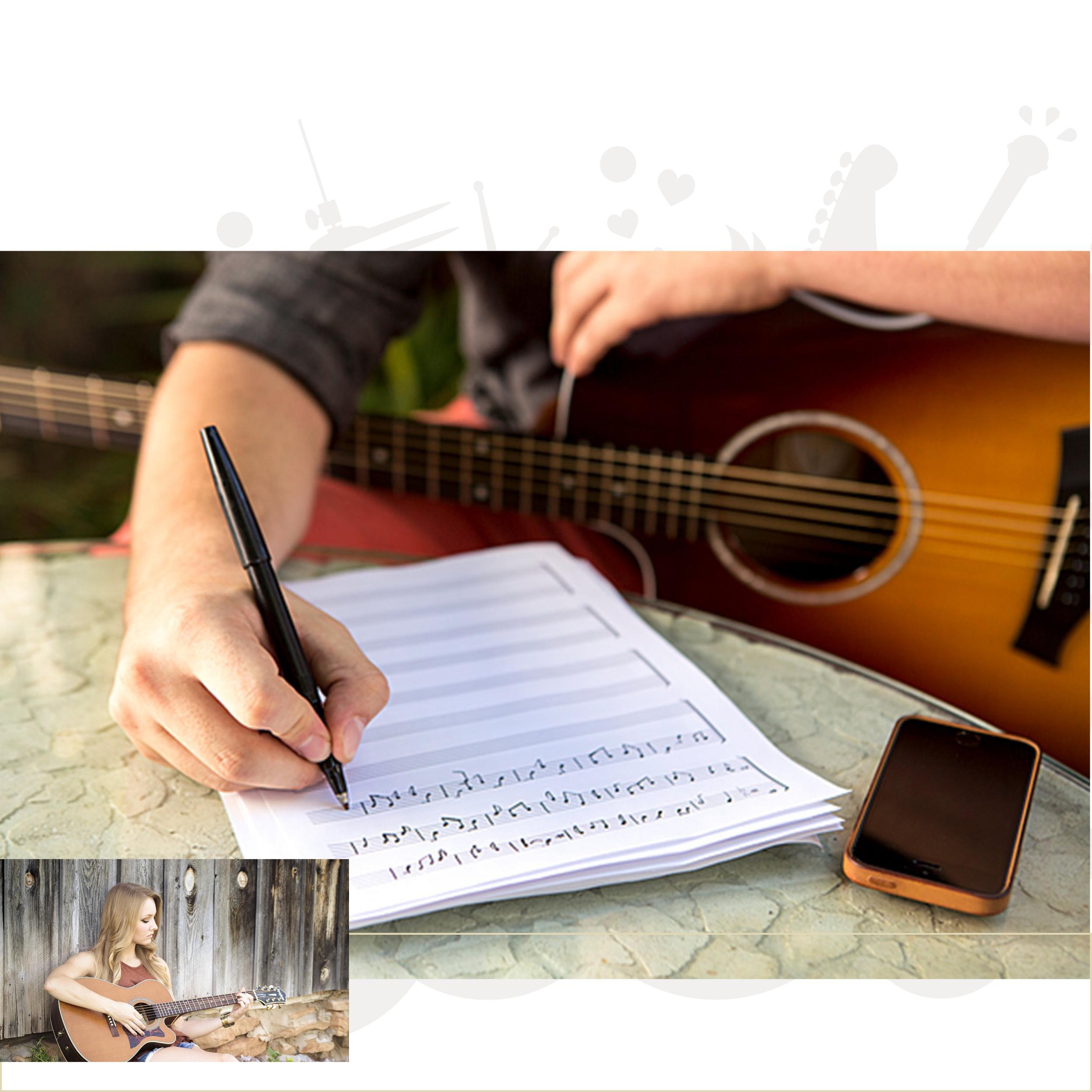 Sangskrivning - Lav jeres egen musik - Rundt om Sammenspil