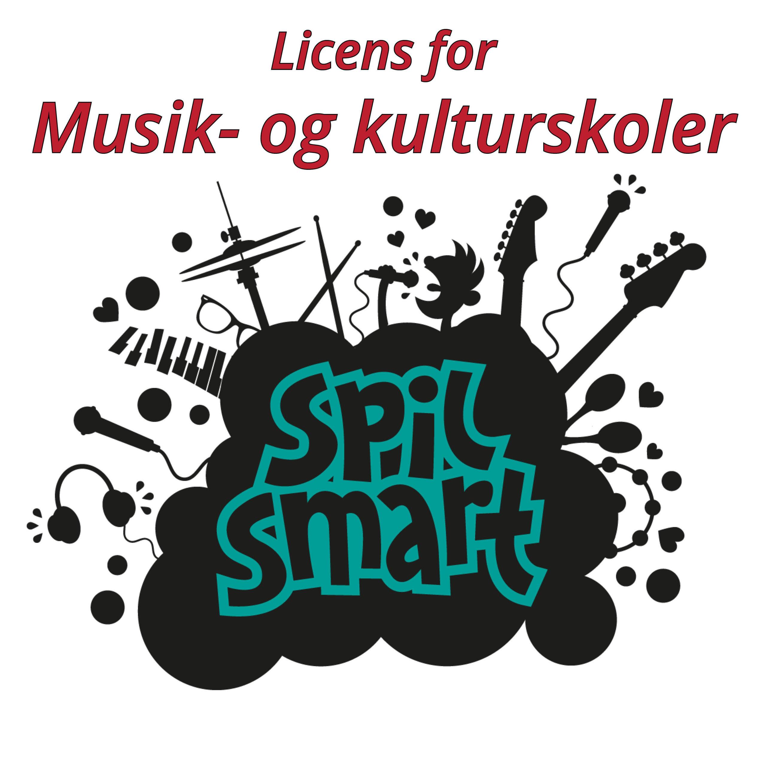 Spil Smart licens for musik- og kulturskoler